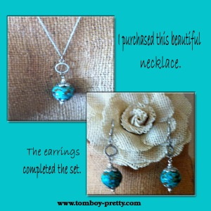 NecklaceEarringSet