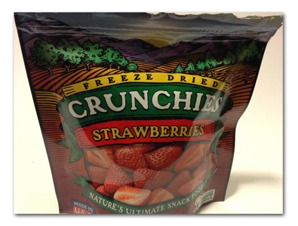 Dried Crunchies Strawberries