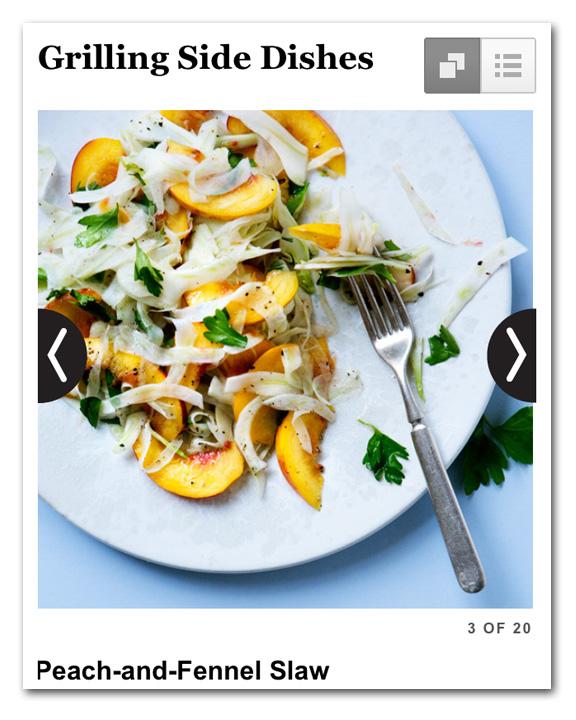 GrilledFennel&PeachSalad