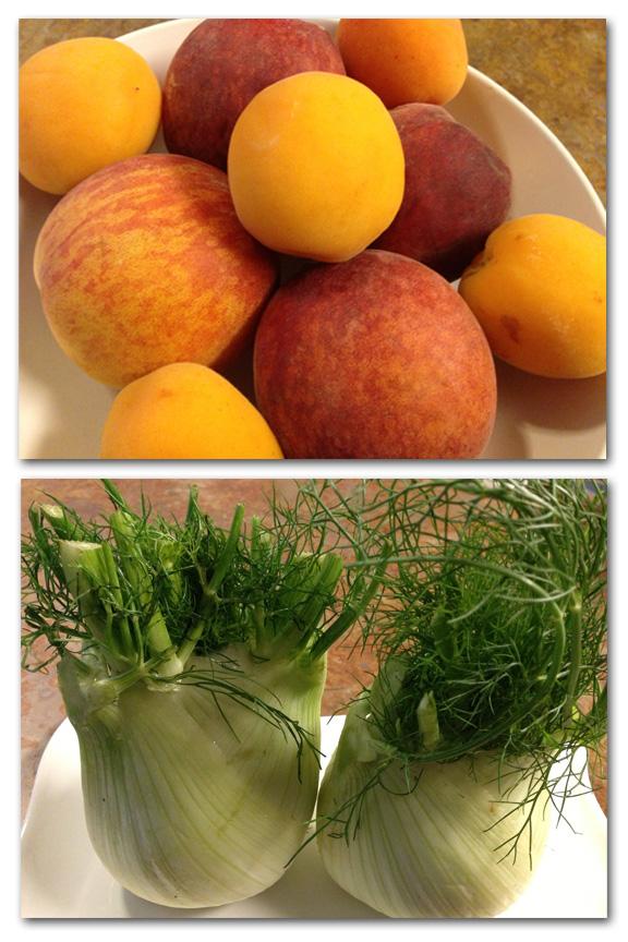 Peach&fennel