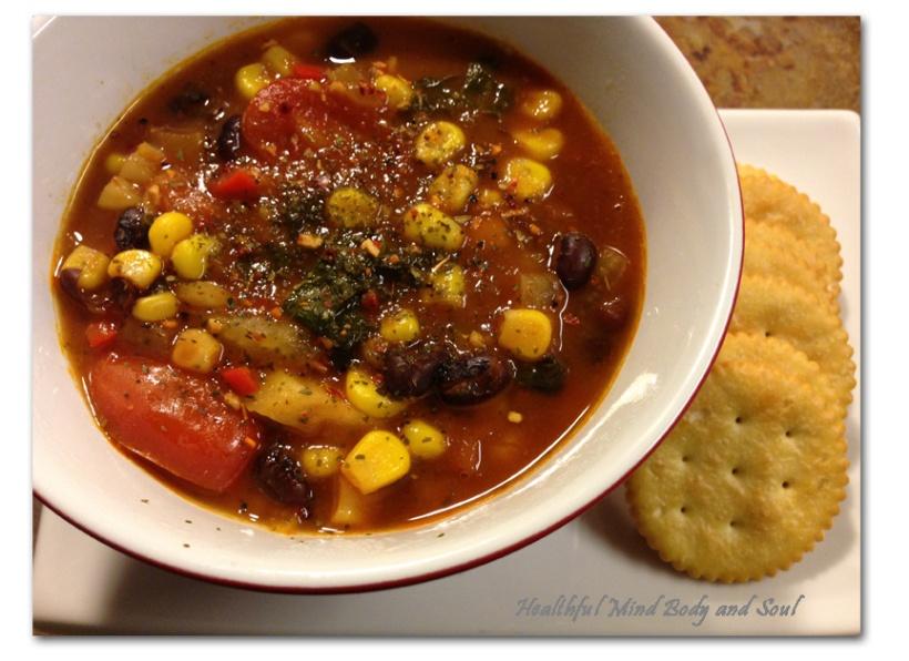 Black Bean Fennel Soup