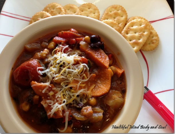 Black Bean Fennel Sweet Potato Soup