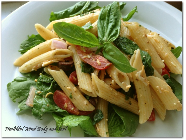 Hemp Seed Pasta Salad