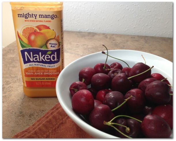 Naked and Fresh Cherry Snack
