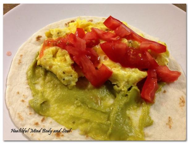 Open Breakfast Taco