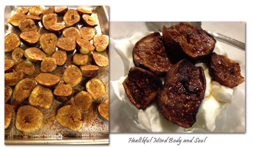 Roasted Figs and Yogurt