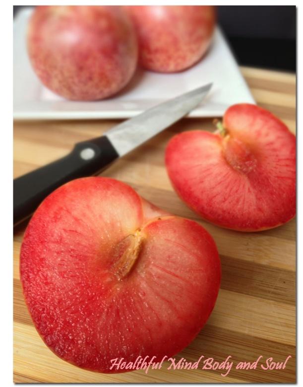 Cut Plumcot
