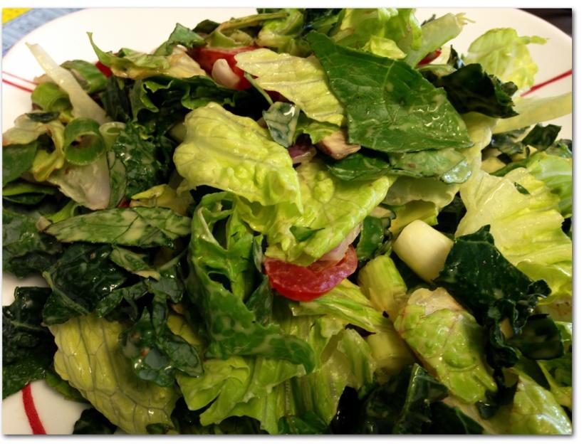 Kale Romaine Salad