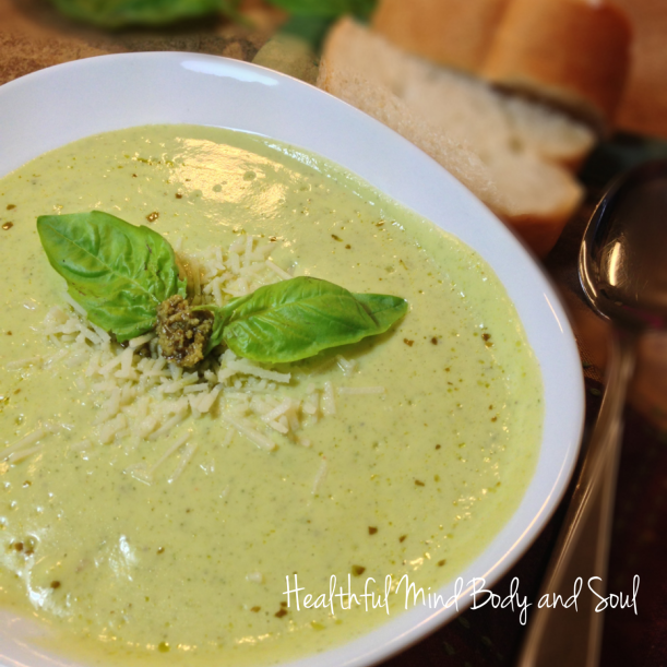 Creamy Summer Squash Soup with Greek Yogurt