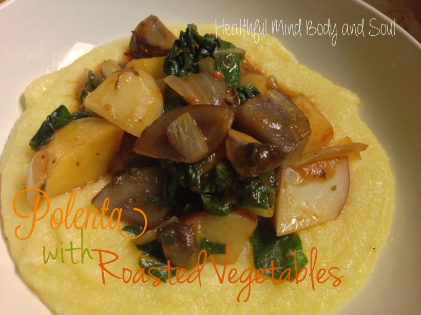 Polenta with Roasted Vegetables