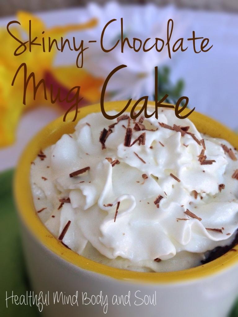 Skinny-Chocolate Mug Cake