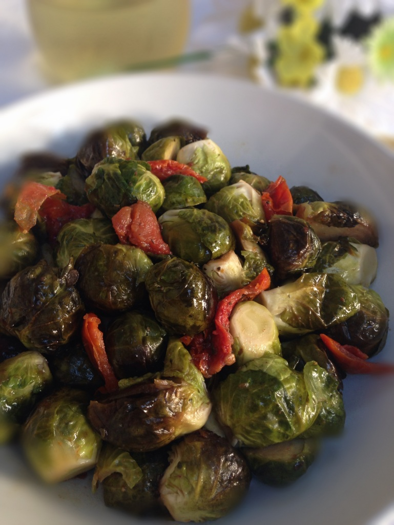 Brussels Sprouts with Tomatoes